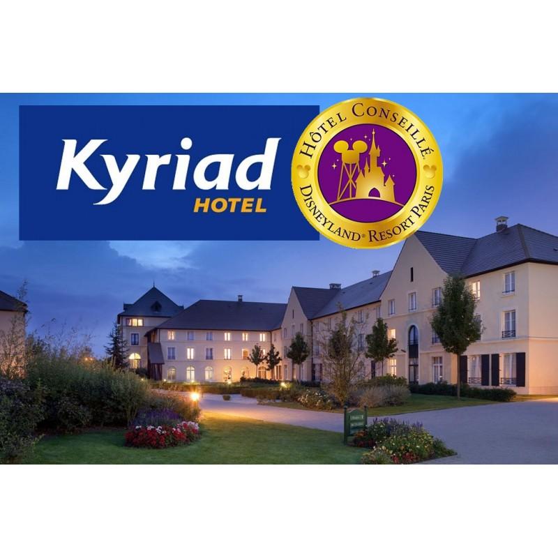 H tel kyriad disneyland paris wengel for Reservation hotel paris