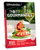Promo box table gourmande