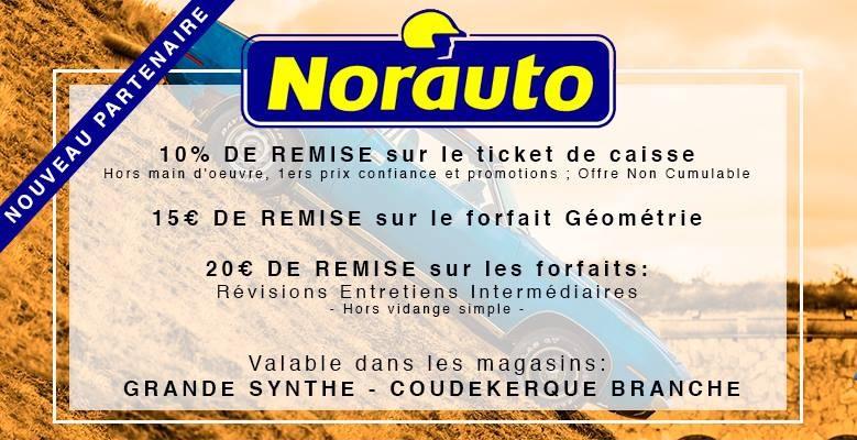 NORAUTO NOUVEAU PARTENAIRE