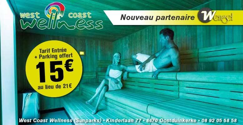 WEST COAST WELLNESS - Oostduinkerke (SUNPARKS)