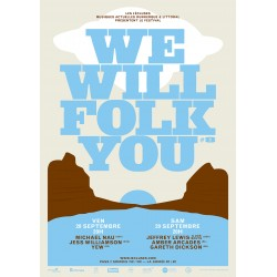 Festival WE WILL FOLK YOU - Les 4 Ecluses