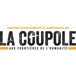 Fin de Partenariat LA COUPOLE, Centre d'Histoire et Planétarium 3D - Helfaut au 20/02/21