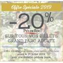 Puy du Fou Billet 2019