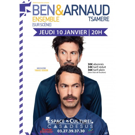 BEN & ARNAUD TSAMERE, 10/01/19, Louvroil