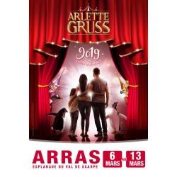 Cirque Arlette GRUSS - ARRAS - 2019