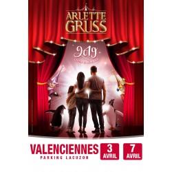 Cirque Arlette GRUSS - VALENCIENNES - 2019