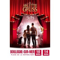 Cirque Arlette GRUSS - BOULOGNE/MER - 2019