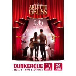 Cirque Arlette GRUSS - DUNKERQUE - 2019