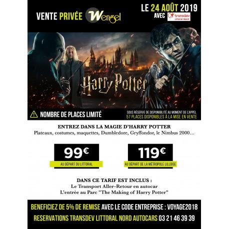 Vente Privée - HARRY POTTER - 24/08/2019