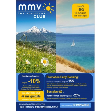MMV - Offre Eté 2019
