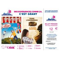 FRANCE MINIATURE - Billets Période JUIN/SEPTEMBRE