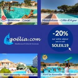 GOÉLIA - Promotion spéciales vacances scolaires