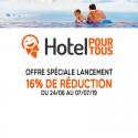 HOTEL POUR TOUS - Offre de lancement