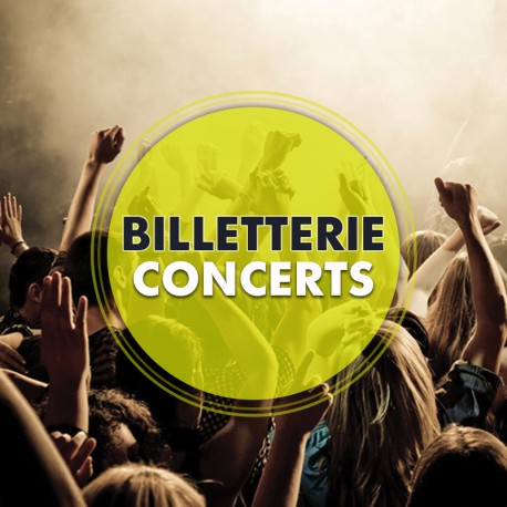 Billetterie Spectacle - CONCERTS
