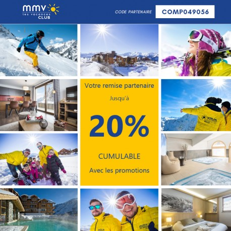 MMV - Early Booking Hiver 2020