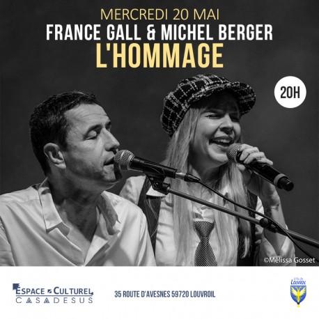 HOMMAGE À FRANCE GALL ET MICHEL BERGER - 20/05/2020 Espace Casadesus