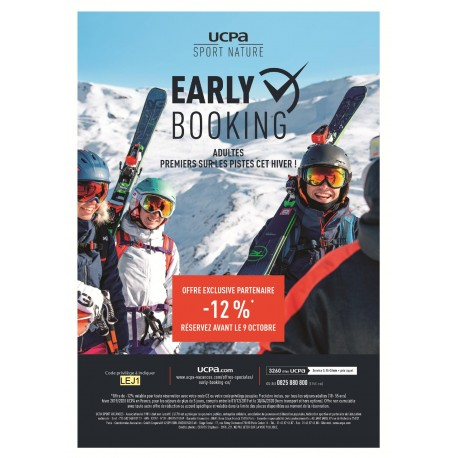 UCPA - Offre Early Booking Sport Nature Adultes &Wengel