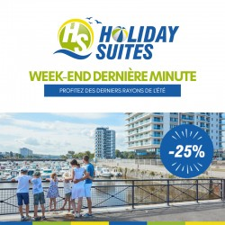 HOLIDAY SUITES - Weekend Dernière Minute