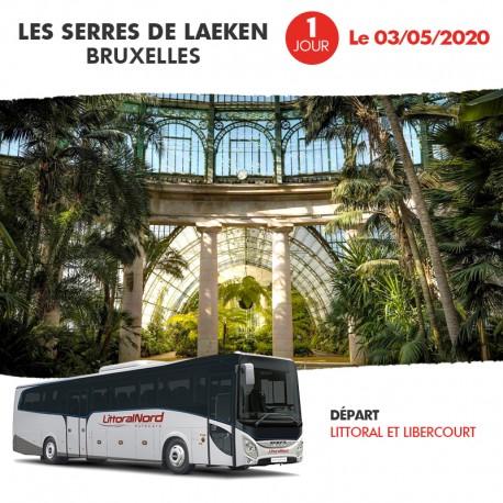 Voyage 1 Jour - Les Serres de Laeken Bruxelles 03/05/2020