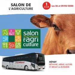 Voyage 1 Jour - Salon de l'agriculture 26 et 29/02/2020
