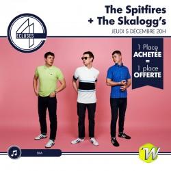 The Spitfires + The Skalogg's - 4 Ecluses - 05/12/2019 - 1 place achetée : 1 place offerte