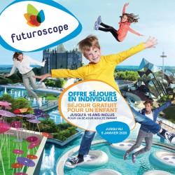 FUTUROSCOPE - Séjour gratuit jusqu'à 16 ans