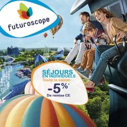 FUTUROSCOPE - Séjours Individuels