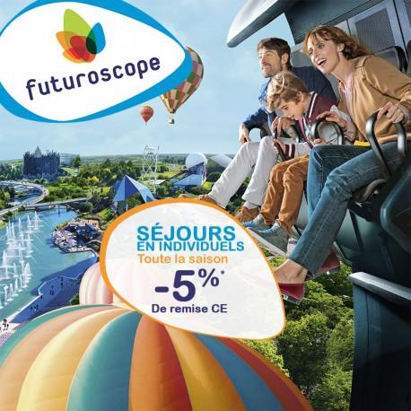 FUTUROSCOPE - Séjour Individuels