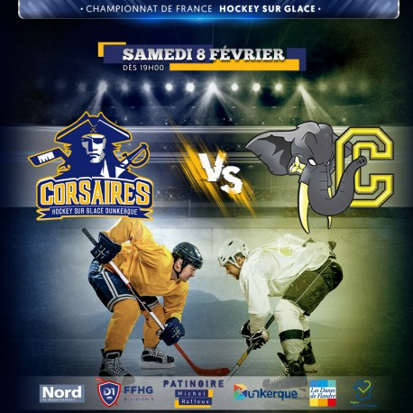 Réduction HGD CORSAIRES de Dunkerque vs CHAMBERY - 08/02/2020 &Wengel