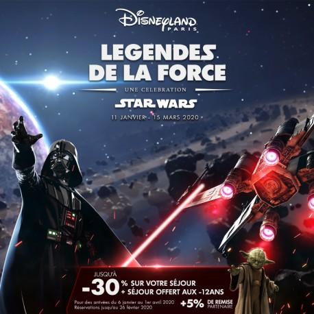 DISNEYLAND PARIS - Séjour Légendes de la Force