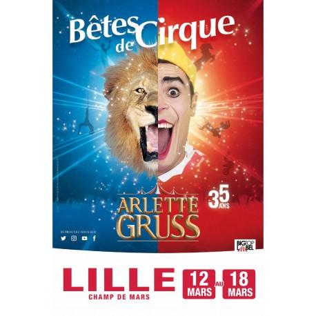 Réduction Cirque Arlette GRUSS - LILLE - 2020 &Wengel