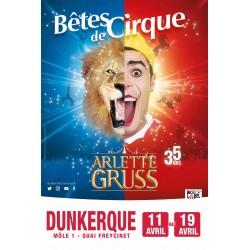 Réduction Cirque Arlette GRUSS - DUNKERQUE 2020 &Wengel