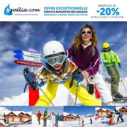 GOÉLIA - OFFRE EXCEPTIONNELLE FORFAIT GRAND DOMAINE