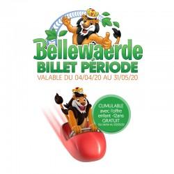 BELLEWAERDE Offre Printemps 2020 - E-Billet Immédiat