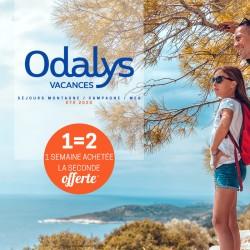ODALYS - 1 Semaine achetée la 2ème OFFERTE