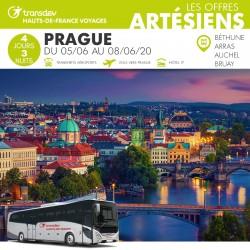 Voyage 4 Jours - Prague du 05/06 au 08/06/20