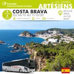 Voyage 6 Jours - Costa Brava du 6/10 au 11/10/20