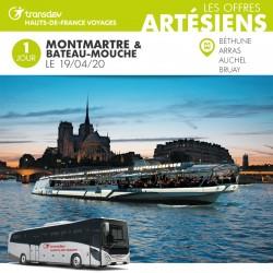 Voyage 1 Jour - Montmartre et Bateau-mouche 19/04/20