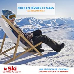 LE SKI DU NORD AU SUD - Dernières minutes ski février mars
