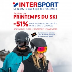 INTERSPORT - Offre Printemps du Ski