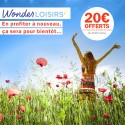 WONDERLOISIRS - 20€ sur vos futures