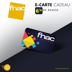 Réduction FNAC - E-Carte Cadeau &Wengel