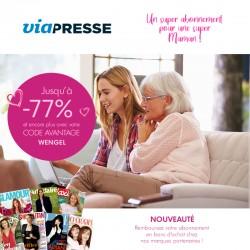 VIAPRESSE - Un super abonnement pour une super maman