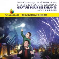 FUTUROSCOPE - Promo Groupes Noël