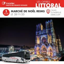 Voyage 1 Jour - Marché de Reims 28/11/2020