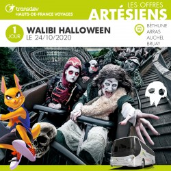 Voyage 1 Jour - Walibi Halloween 24/10/20