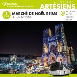 Voyage 1 Jour - Marché de Reims 06/12/2020
