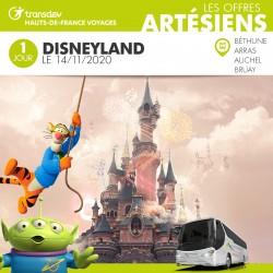 Voyage 1 Jour - Disneyland 14/11/20