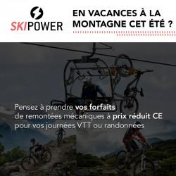 SKIPOWER - Remontées mécaniques VTT et Rando