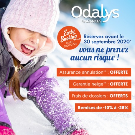 ODALYS - Early Booking Hiver 20/21